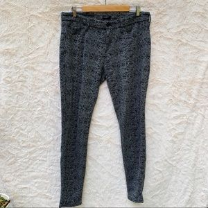 MOTHER The Looker Gray Wool Pants